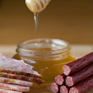 Timber Ridge Beef Daybreak Sticks - Honey Ham Flavor