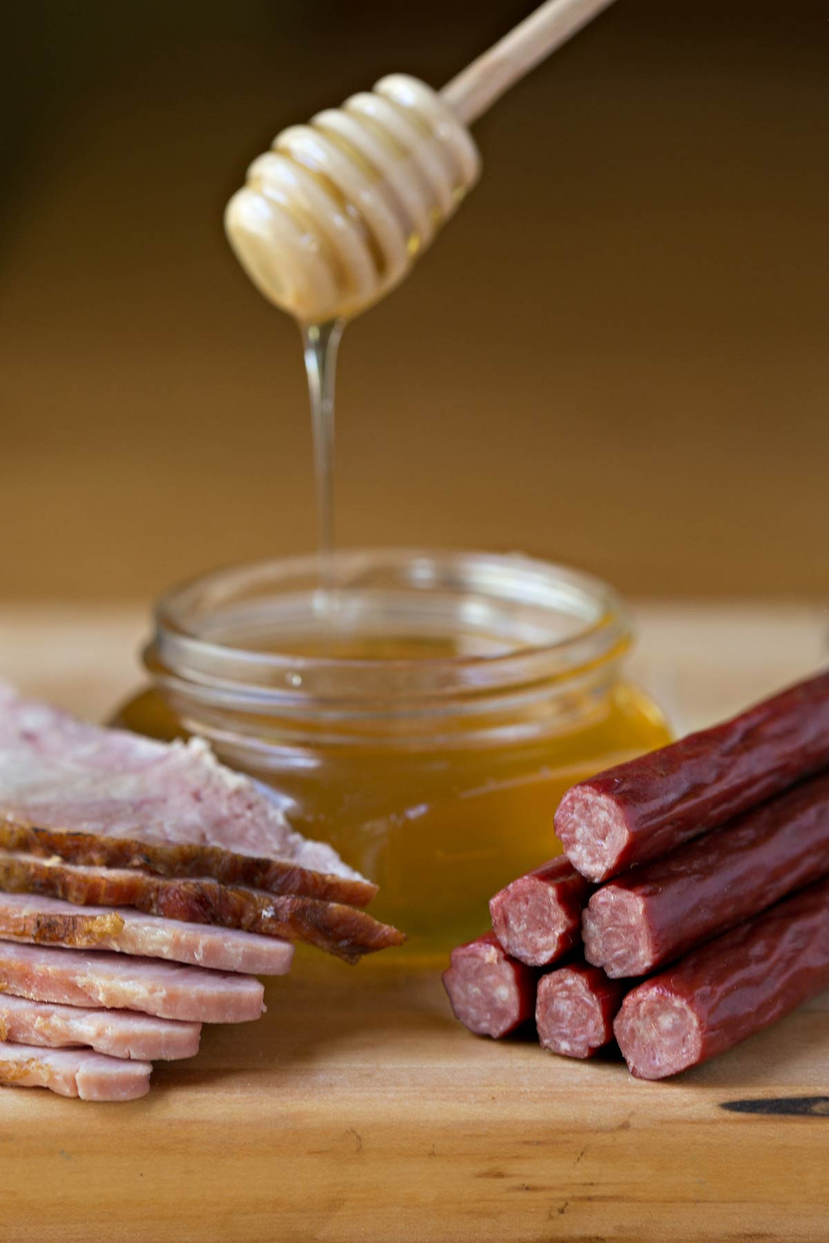 Timber Ridge Beef Daybreak Sticks - Honey Ham Flavor