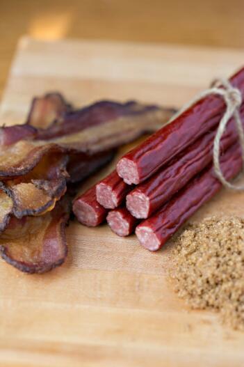 Timber Ridge Beef Morning Sizzle Sticks - Applewood Smoked Bacon Flavor